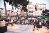 Blanca acoge el espectáculo circense ´Todo En-Caja´ de la compañía murciana Up Arte que se verá por primera vez en la Región de Murcia