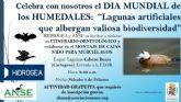 El Ayuntamiento se une a la celebracion del Dia Mundial de los Humedales con un itinerario ornitologico y el montaje de nidos para murcielagos en la depuradora de Cabezo Beaza