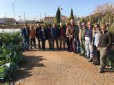 El Puntal cuenta ya con un nuevo huerto de ocio de 13 parcelas con una superficie de 1.208 metros cuadrados