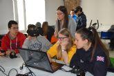 Cerca de 600 alumnos de Secundaria y Bachillerato harán prácticas de realidad virtual y Electrónica en el aula STEM de Teleco