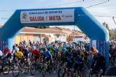 Los ciclistas José Manuel Cayuela y José María García, colíderes tras el Trofeo Social Interclub Campo de Cartagena - Mar Menor