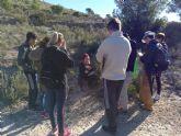 Voluntarios y voluntarias ambientales de Molina de Segura han colaborado en la identificación de huellas y rastros de mamíferos terrestres en el Parque Ecológico Vicente Blanes