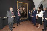 López Miras: 'Con la exposición sobre Floridablanca contribuimos a recuperar su memoria, su figura y su ejemplo'