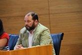 """Juan C. Carrillo Ruiz.: """"Estamos manejando dinero público, y el dinero público no es de nadie. Ni el gobierno de Totana, tampoco"""""""