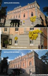 HUERMUR celebra la retirada de la distorsionante instalación de la fachada BIC del Teatro Romea