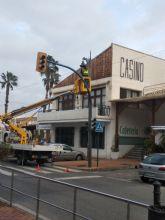 El Ayuntamiento de San Pedro del Pinatar renueva parte del alumbrado público con luminarias led