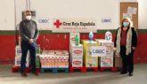 COEC entrega más de 600 kilos de productos a Cruz Roja de La Unión