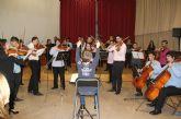 La Orquesta Universitaria de Murcia presenta en Puerto Lumbreras su concierto ´Descubriendo a Mozart y Beethoven´