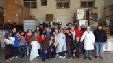 Usuarios del Centro de Día para Personas con Enfermedad Mental visitan las instalaciones de la empresa pastelera Vigala