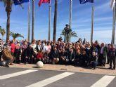 Los mayores del Centro de Día viajan al Mar Menor
