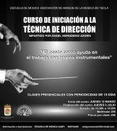 Curso de iniciación a la técnica de dirección impartido por Ángel Hernández Azorín