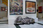 La Sardina permanece custodiada en el Ayuntamiento donde se puede visitar hasta su entrega el próximo jueves