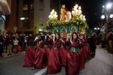 Centenares de personas disfrutan de las procesiones de Semana Santa del municipio