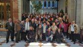 Los mayores pinatarenses disfrutaron conociendo los rincones de la capital