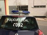 La Policía Local de Totana detiene a una persona por un robo con violencia e intimidación en una calle de la urbanización 'El Parral'