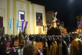 Las imágenes titulares de la Cofradía Nuestro Padre Jesús Nazareno desfilaron en la noche de Miércoles Santo