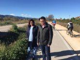 El PSOE exige limpieza y seguridad en toda la mota del Segura y recuerda que el proyecto Río 'no es sólo iluminarlo a su paso por la ciudad'
