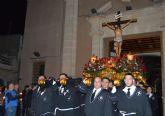 La cofradía del Santísimo Cristo Crucificado llena de solemnidad y recogimiento el Miércoles Santo torreño