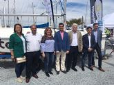 La Comunidad participa en la inauguración de la Feria Náutica Marina de las Salinas
