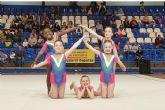 Más de 2.500 asistentes en la XXXIX Competición Escolar de Conjuntos en la modalidad de Gimnasia Rítimica Deportiva