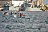 Cartagena celebra la Copa de España de Kayak de Mar