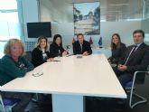 El Alcalde recibe a la nueva titular del Registro de la Propiedad de Torre Pacheco, Marta Amat Garrido