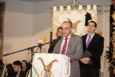 José Ortuño pregona las fiestas del barrio de San Isidro de Puerto de Mazarrón