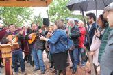 La buena relación entre Betanzos y Bullas queda demostrada con la inauguración del Jardín de Betanzos