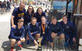 Siete medallas más para la UCAM en tenis y triatlón