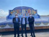 El presidente de la CHS ha visitado la Desaladora Virgen del Milagro de la CR de Mazarrón