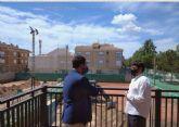 El Ayuntamiento de Los Alcázares mejora el Club de Tenis