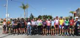 Disputada la cuarta etapa de la V Vuelta Ciclista Ruta de Cadetes a la Región de Murcia en Puerto Lumbreras