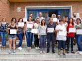 Los alumnos del Conecta Barrios reciben sus certificados