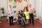 Julio, un cartagenero con parálisis cerebral, cumplirá su sueño de hacer el Camino de Santiago