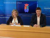 El presupuesto del Ayuntamiento de Molina de Segura para el año 2018 es de 60.207.612,10 euros, un 3,66 % más elevado que el año anterior