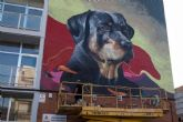 Murales y graffitis trasforman el paisaje urbano de Cartagena