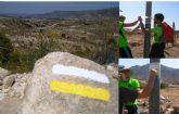 Gracias al Voluntariado Ambiental de Molina de Segura ¡Voluntari@s Naturalmente! el sendero de la Rambla del Chorro (PR-MU 72) mejora su aspecto