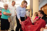 Exposición de talleres para cerrar el mayo cultural del centro de personas mayores de puerto de Mazarrón