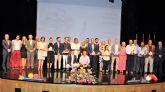 Los velocistas del Nutribán Sociedad Atlética Alcantarilla, Sergio López y Celia Cárceles, deportistas más destacados en los Premios al Mérito Deportivo de la Ciudad de Alcantarilla 2017