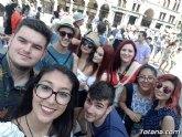 Un grupo de alumnos del IES «Prado Mayor» están en Rímini (Italia) como parte del proyecto ERASMUS +