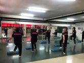 Pilar Antón clausura su taller de gimnasia