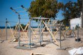 Bolnuevo tendr� la primera playa de la regi�n con instalaciones deportivas de calistenia