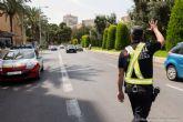 La Policía Local de Cartagena controla el uso del cinturón en 984 vehículos
