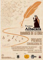 El Ayuntamiento de Caravaca de la Cruz convoca la 38 edición del Certamen Literario ´Albacara´