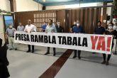 La plataforma Rambla de Tabala denuncia su preocupación por el estado actual del cauce del Reguerón