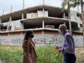 La dejadez del líder del tripartito murciano devuelve los okupas al entorno del barrio de San Pío X