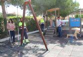 El Ayuntamiento de Puerto Lumbreras realiza mejoras en el parque público de Góñar