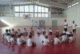Luciano Herrero visita el I Campus de Fútbol Sala 'La Cantera'