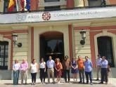 Unión de todos los grupos políticos del Ayuntamiento de Murcia ante los ataques terroristas de Estambul