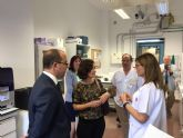 Visita al Laboratorio de Investigación Biomédica